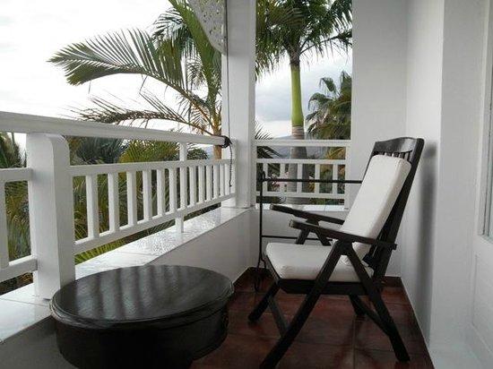 Blue Margouillat Seaview Hotel: Balcon