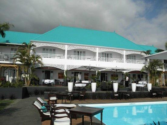 Blue Margouillat Seaview Hotel: Vue générale