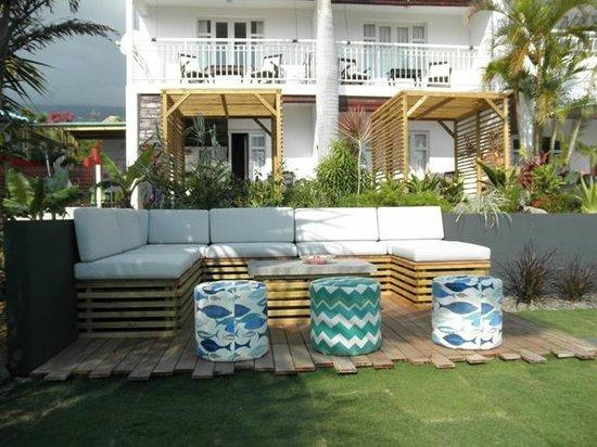 Blue Margouillat Seaview Hotel : Espace détente