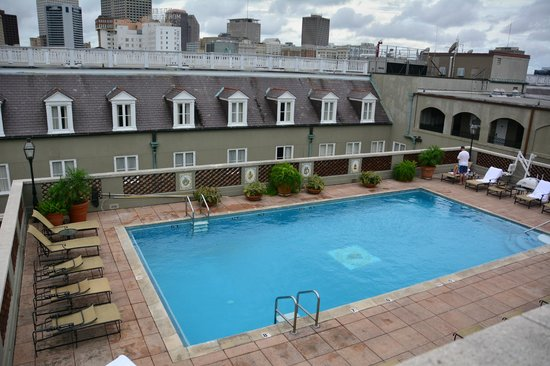Rooftop Pool Picture Of Omni Royal Orleans New Orleans