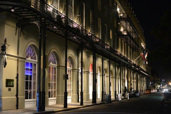 Omni Royal Orleans: Omni Royal at night