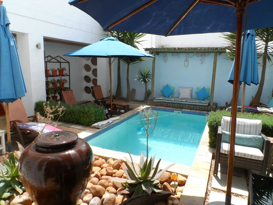 Paternoster Dunes Boutique Guest House : Splash pool area