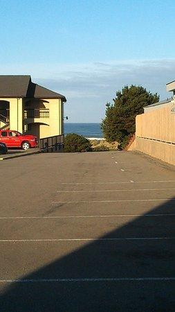 Gold Beach Inn: View from room 406