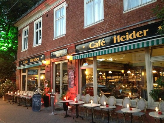Cafe Heider: outside