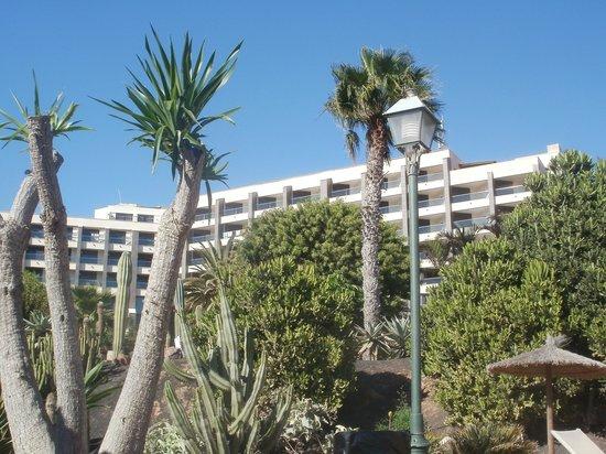 Meliá Gorriones Fuerteventura: hotel Gorriones vanaf de zee gezien