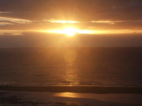 Meliá Gorriones Fuerteventura: zonsopgang vanuit de kamer