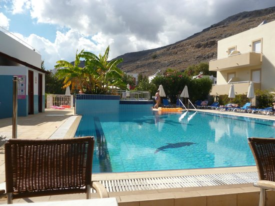 Lindos Athena Hotel: lovely clean and well maintained pool area