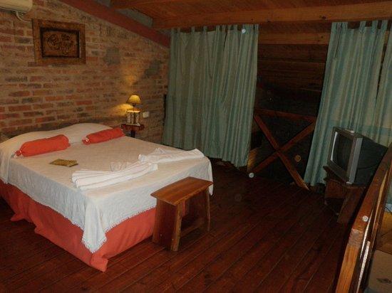 Jasy Hotel : Bedroom in the loft