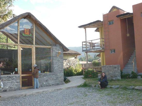 Killawasi Lodge: Entrada