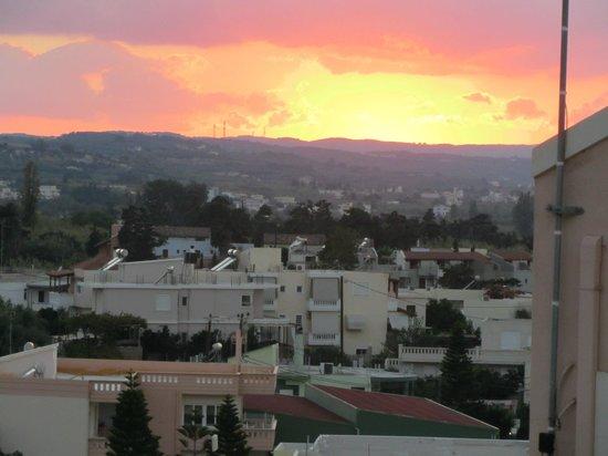 Solnedgång från Almiras