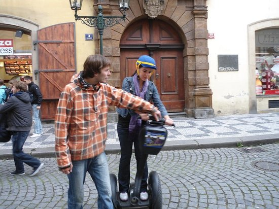 SEGWAY EXPERIENCE: Segway and E-Scooter Tours: First time in a segway