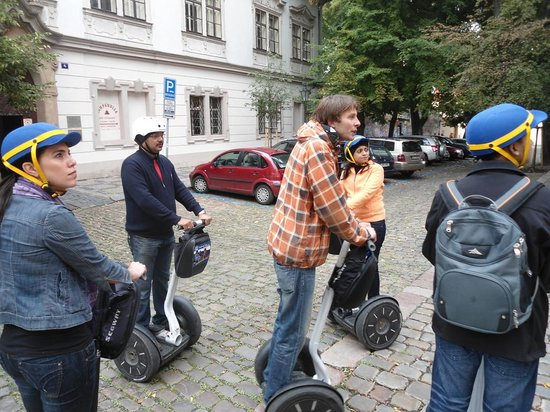 SEGWAY EXPERIENCE: Segway and E-Scooter Tours: Our guide, Marek