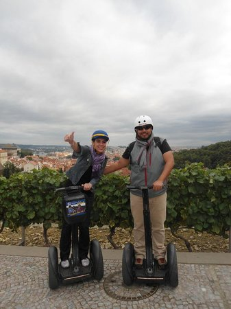 SEGWAY EXPERIENCE: Segway and E-Scooter Tours: Great views of the city