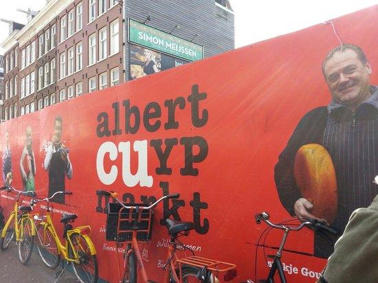 Albert Cuyp Market : Entrada