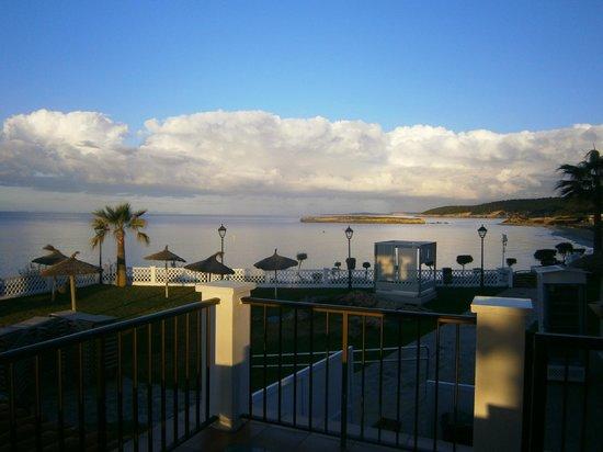 Sol Beach House Menorca: View from restaurant terrace