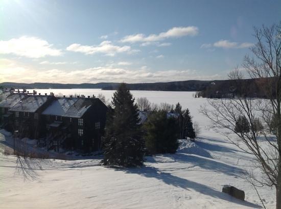 Hidden Valley Resort: view from the room