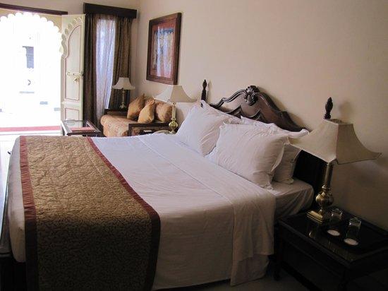 Shiv Niwas Palace: la stanza