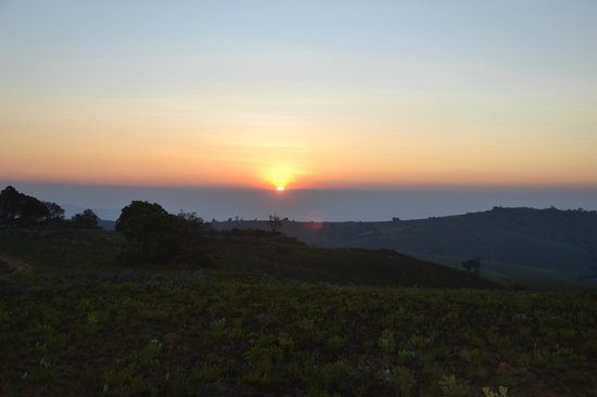 Central African Wilderness Safaris Chelinda Lodge: Sunset over Nyika