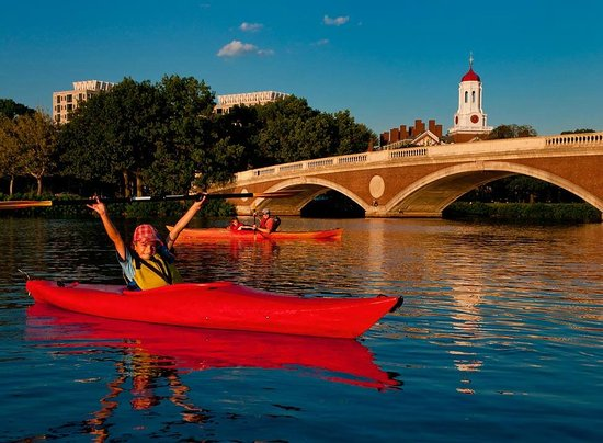 Charles River Canoe & Kayak: Kids Love Kayaking