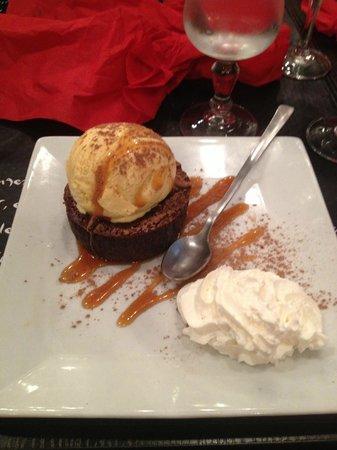 La Factory burger : Chocolate fondant