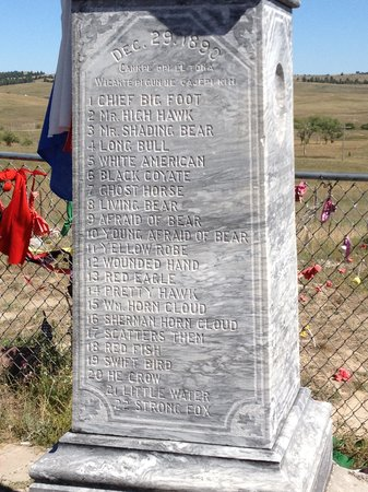 Odd Duck Inn : Wounded Knee Memorial
