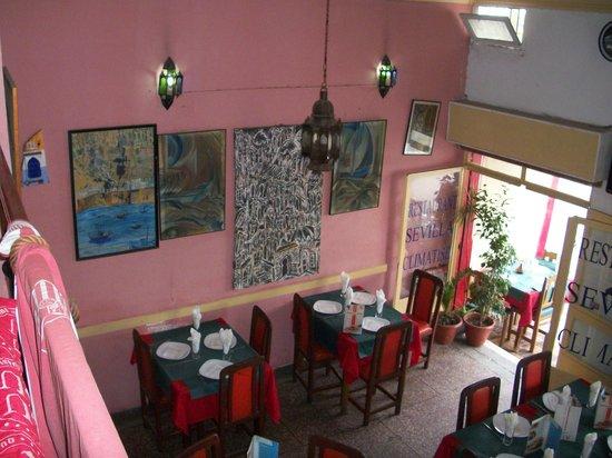 Sevilla: 2eme etage salon