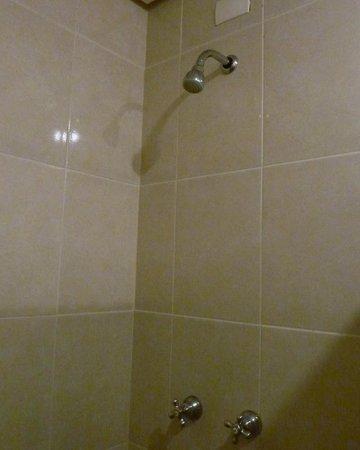 Cinelandia Hotel : O chuveiro permite regulagem de temperatura e tem um jato bem forte