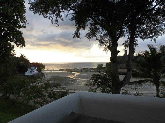 Chuini Zanzibar Beach Lodge: Aussicht vom Bungalow