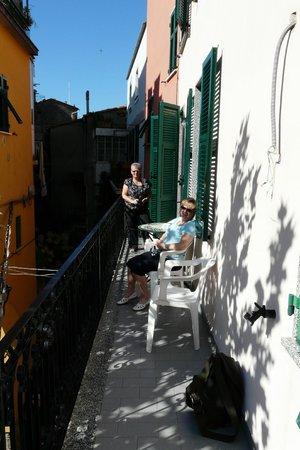 La Posada Ristorante & Camere: Balcony