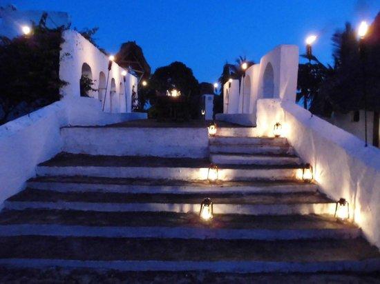 Chuini Zanzibar Beach Lodge: Ruinen