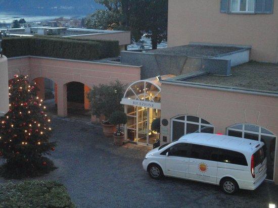 Villa Sassa Hotel, Residence & Spa: Accueil