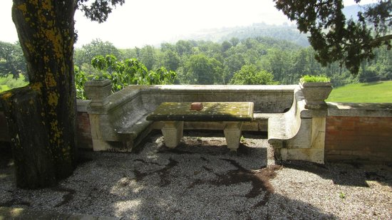 Villa Poggiano: beautiful sitting area