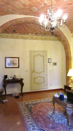Villa Poggiano: sitting area