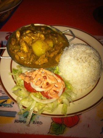 Kamini's Kitchen: Curried chicken
