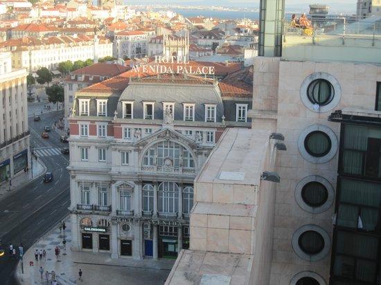 VIP Executive Éden Aparthotel: Utsikt från takterassen