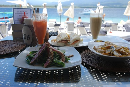 Scallywags Beach Club: Deliziose Potatoes Creamy Gili Air