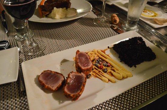 Restaurant Clementine : thon rouge tempura