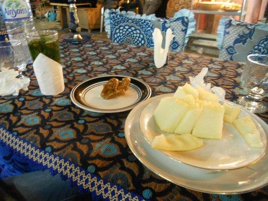 Chez Rachid : ananas