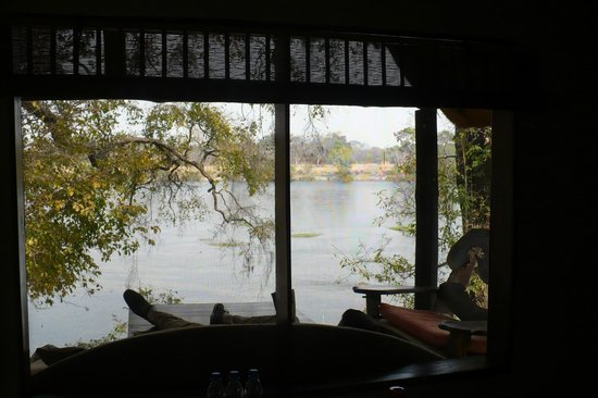 Hippo Lodge: View from Honeymoon House