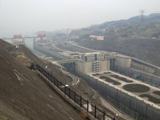 Three Gorges Dam Project : Die Schleusenkammern