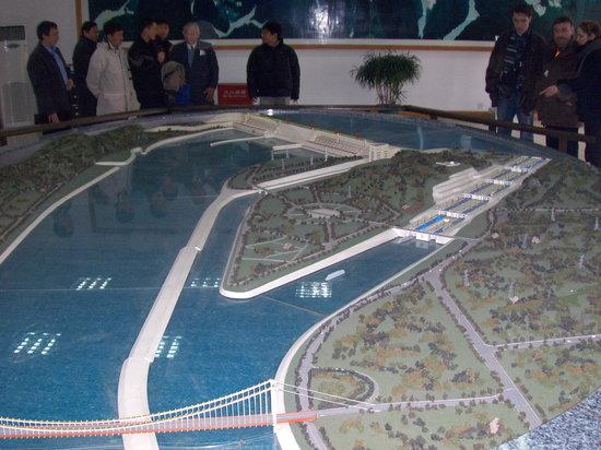 Three Gorges Dam Project : Die Schleusen im Modell