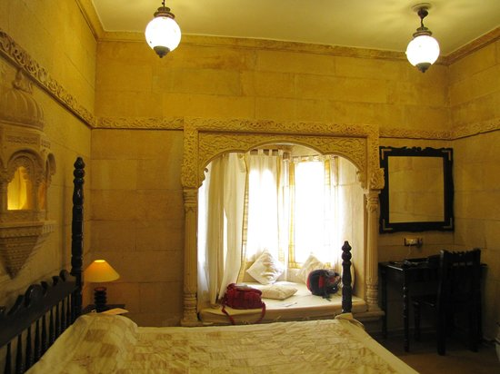 Hotel Pleasant Haveli: camera: particolare del bow window
