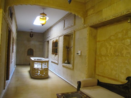 Hotel Pleasant Haveli: il pianerottolo