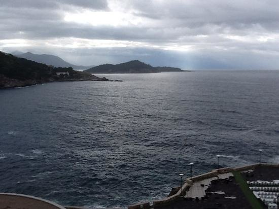 Rixos Hotel Libertas : View from our room - a bit overcast