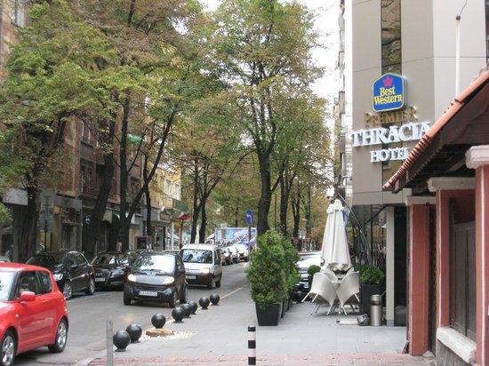 BEST WESTERN PREMIER Thracia Hotel : Thracia location