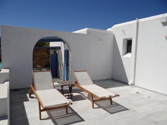 Villa Marandi Luxury Suites: Balcony