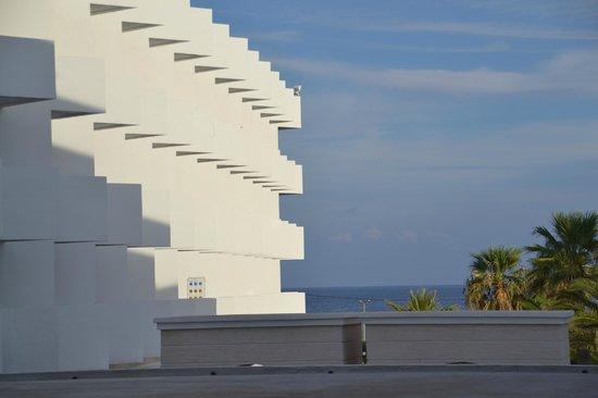 Mitsis Faliraki Beach Hotel & Spa: A room with a view