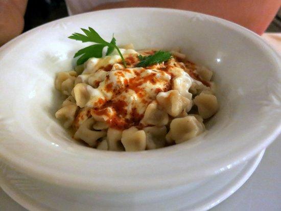 Somine Cafe & Restaurant : Kayseri Manti