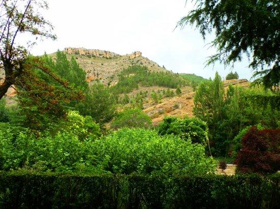 Meson Del Gallo: Вид на парк
