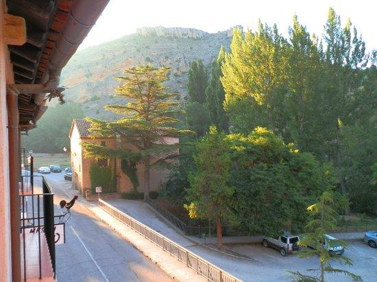 Meson Del Gallo: Раннее утро, вид с балкона